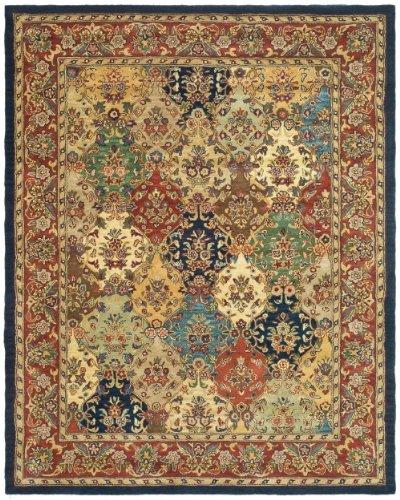 Traditional Rug - Heritage Wool Pile -Multi/Burgundy