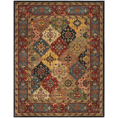 Traditional Rug - Heritage Wool Pile -Red/Multi