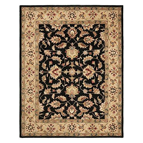 Traditional Rug - Heritage Wool Pile -Black/Gold