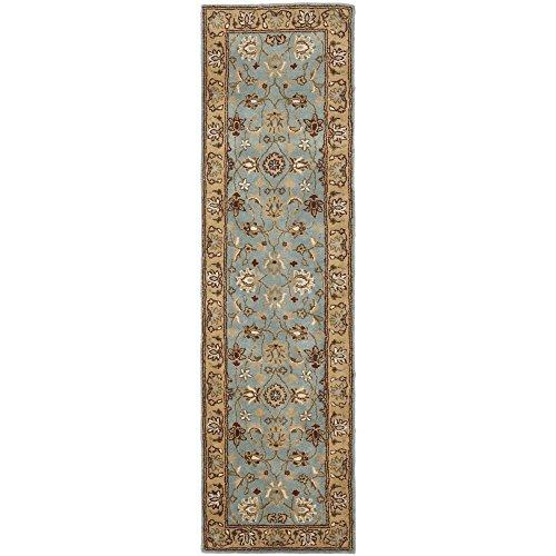 Traditional Rug - Heritage Wool Pile -Blue/Gold