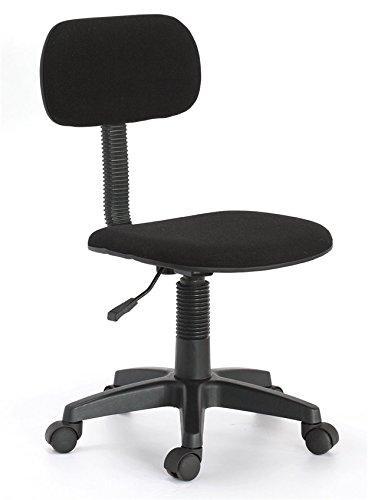 Hodedah Armless Task Chair - Black