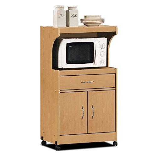 Microwave Cart - Beech