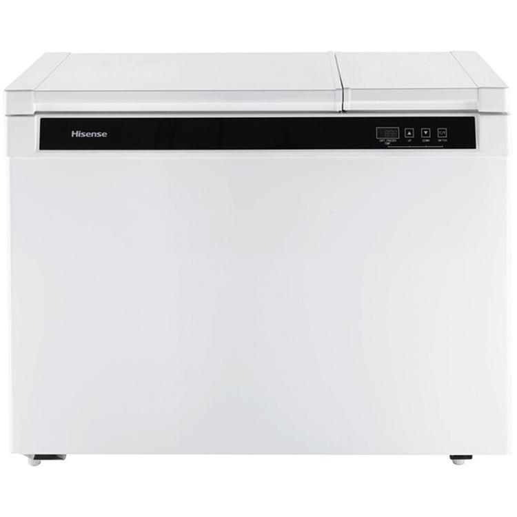 9 Cu. Ft. Dual Zone Convertible Chest Freezer