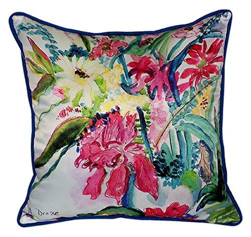Multi Florals Large Indoor/Outdoor Pillow 18x18