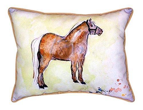 Shetland Pony Large Indoor/Outdoor Pillow 16x20