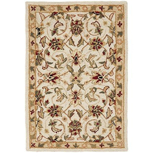 Transitional Rug - Chelsea Wool Pile -Ivory/Ivory