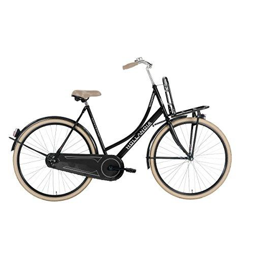 Transport Black 700C City Dutch Bicycle