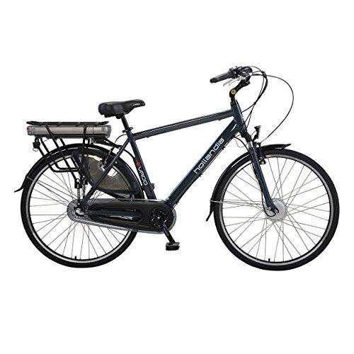 Evado Nexus 3.19 Men's 700C Charcoal Electric Bicycle