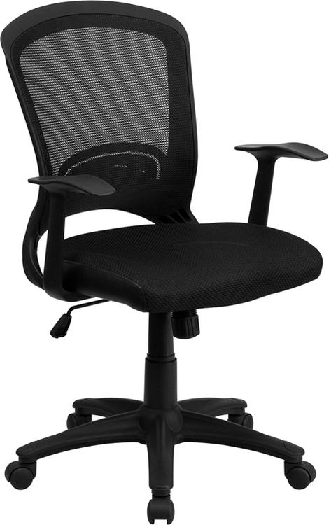 Mid-Back Designer Mesh Swivel Task Chair