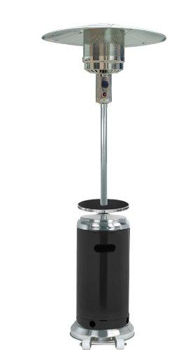 AZ Patio Heaters Outdoor Two-Toned Patio Heater in Stainless Steel and Black