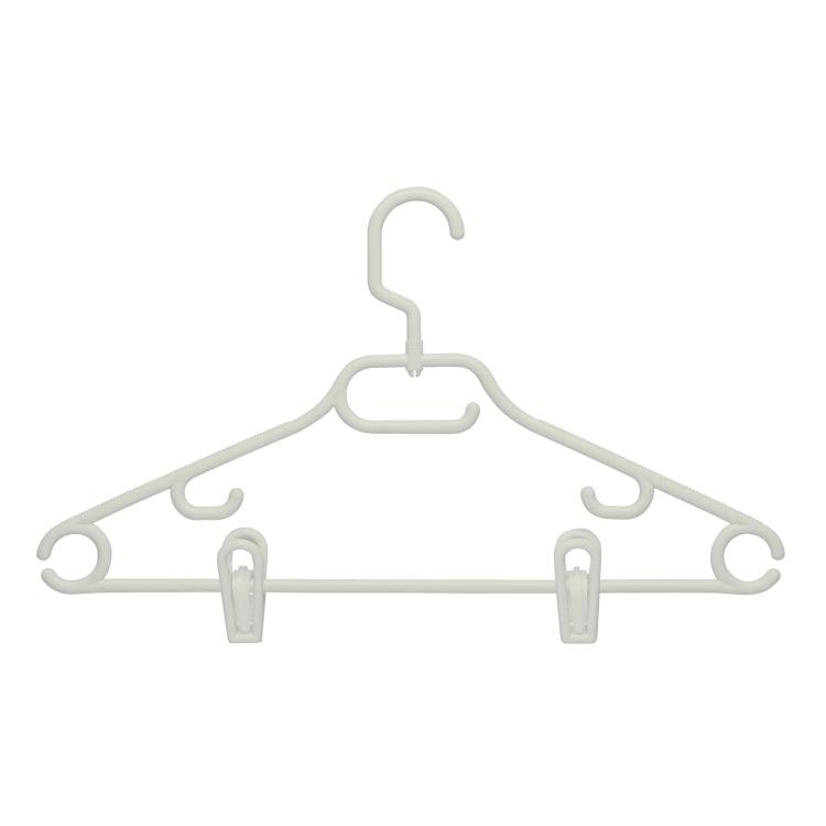 52 Gram Hanger, Swivel With Dress Notch With Clips