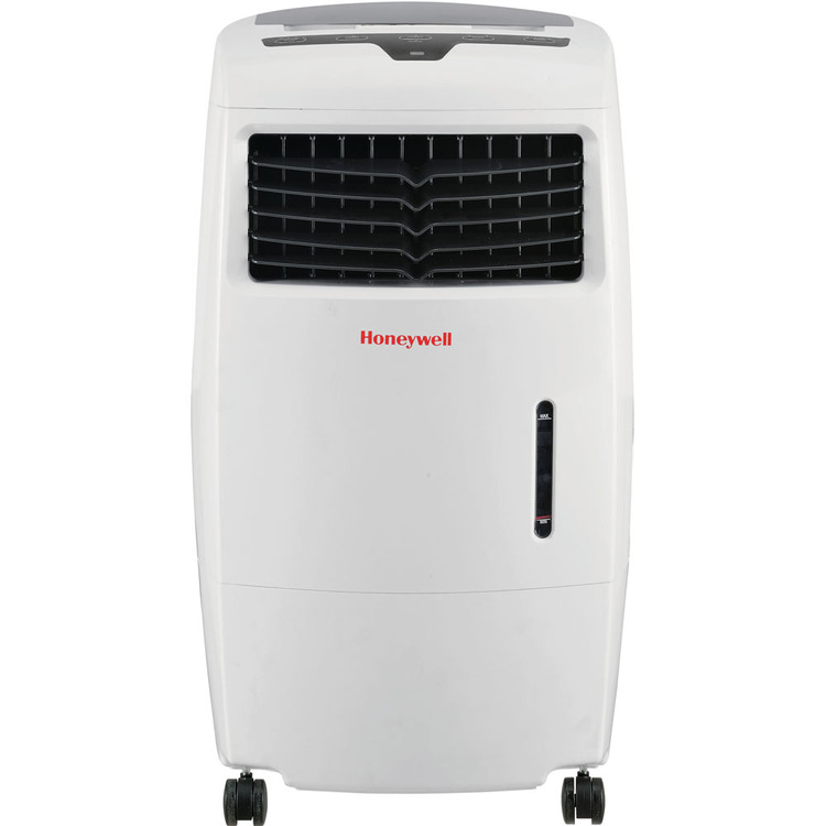 Honeywell CL25AE Indoor Evaporative Air Cooler with Remote Control - White