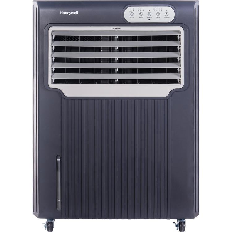 Honeywell CO70PE 148 Pt. Indoor/Outdoor Evaporative Air Cooler - Grey/White