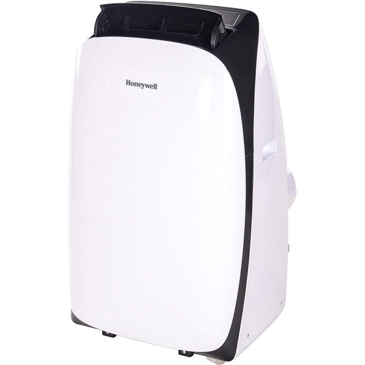 Honeywell Contempo Series Portable Air Conditioner with Dehumidifier and Remote Control for a Room up to 400 Sq. Ft. (White/Black)