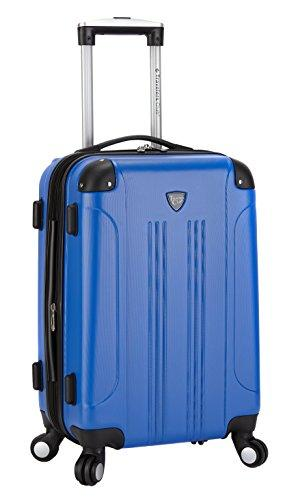 Travelers Club Luggage Chicago Hardside Expandable Carry-on