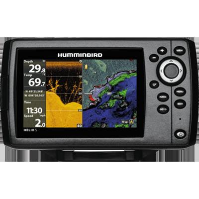 Helix 5 CHIRP DI GPS G2, w/ Xdcr