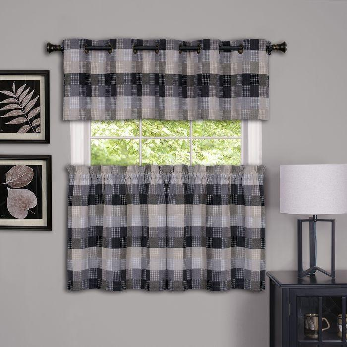 Harvard Window Curtain Valance With 10 Sm Grommets