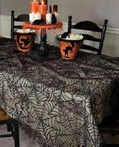 Spider Web 60X90 Tablecloth [Item # HW-6090B]