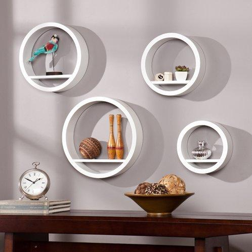 Bali Circle Shelf 4pc Set