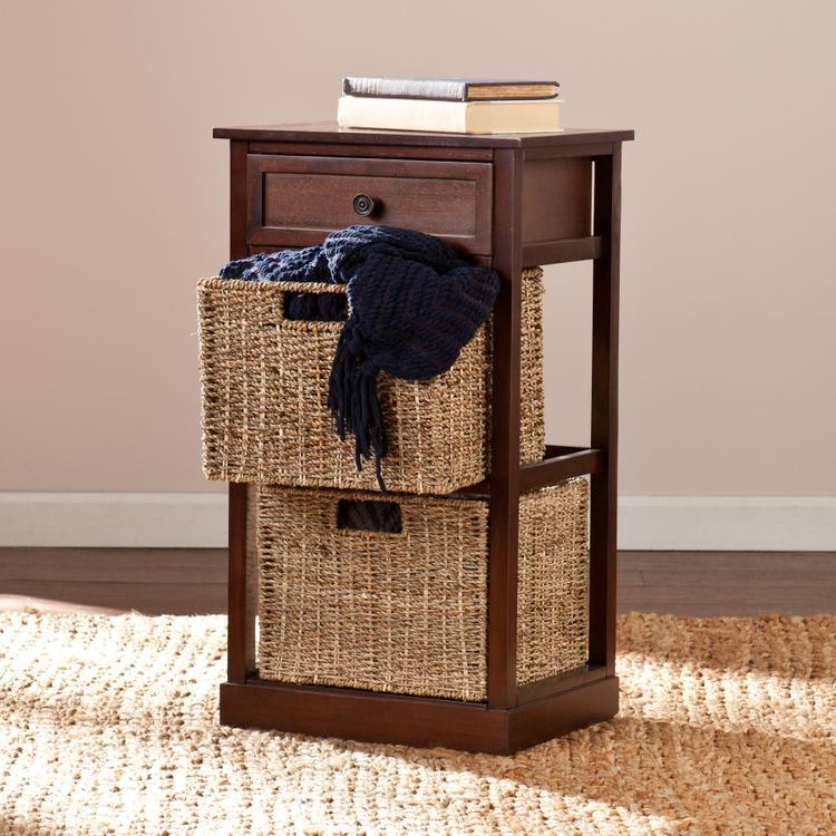 Kenton 2-Basket Storage Shelf