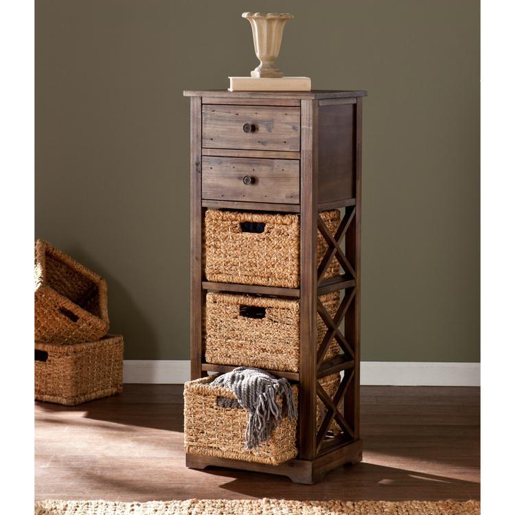 Jayton 3-Basket Storage Tower