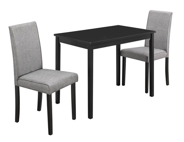 Monarch Specialties Dining Set With Parson Chairs