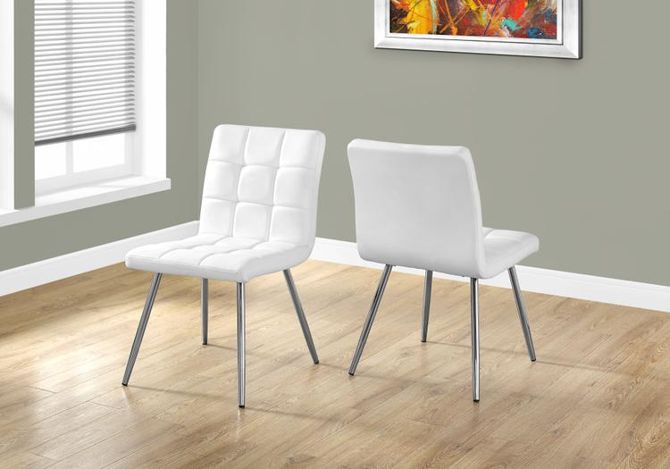 Monarch Specialties Dining Chair - Leather-Look
