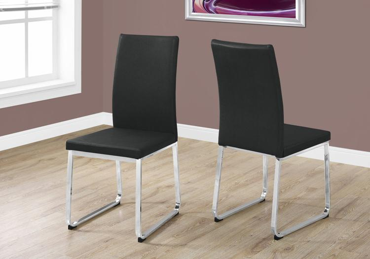 Monarch Specialties Leather Look Dining Chair