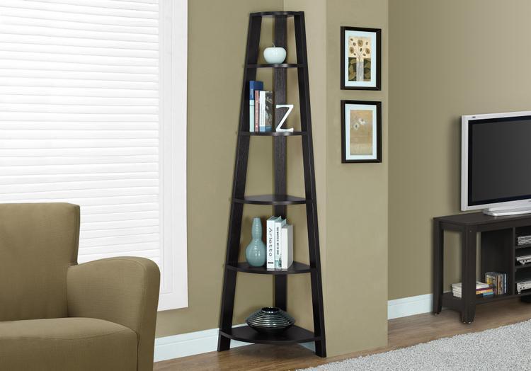 Monarch Specialties Corner Bookcase