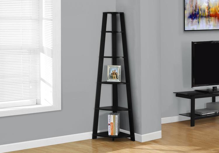 Monarch Specialties Corner Bookcase [Item # I2499]