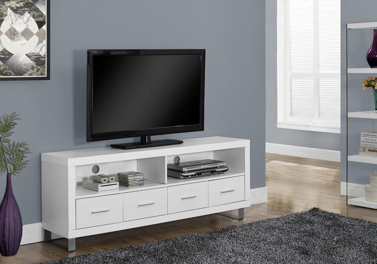 Monarch Specialties Tv Stand With 4 Drawers