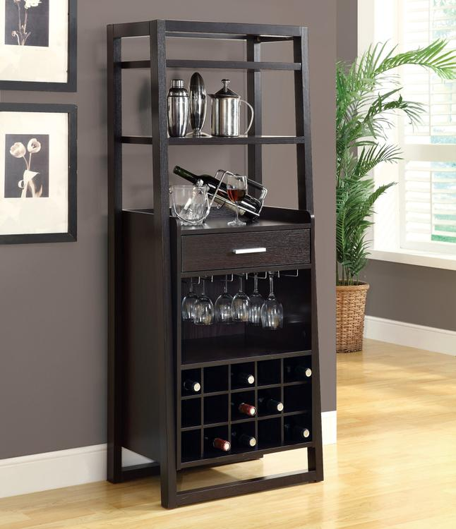 Monarch Specialties Home Bar - Ladder Style