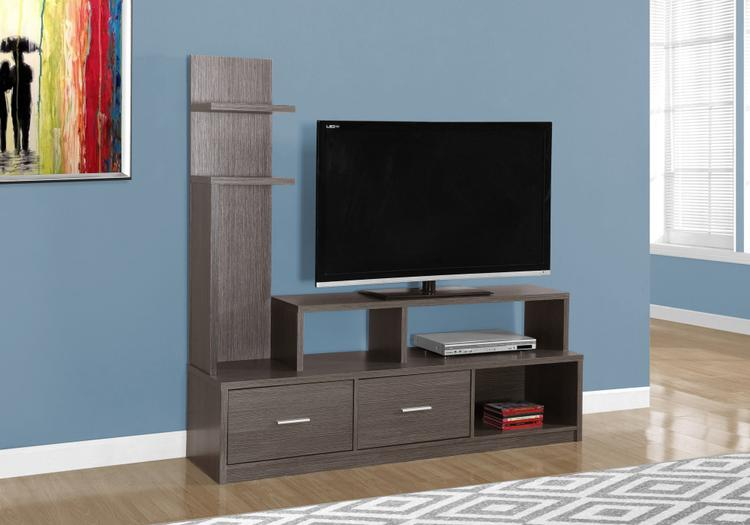 Monarch Specialties Tv Stand - With A Display Tower