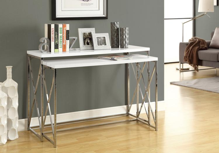 Console Table - With Metal