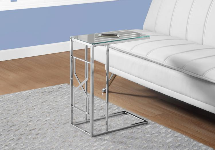 Accent Table - Mirror Top/Metal