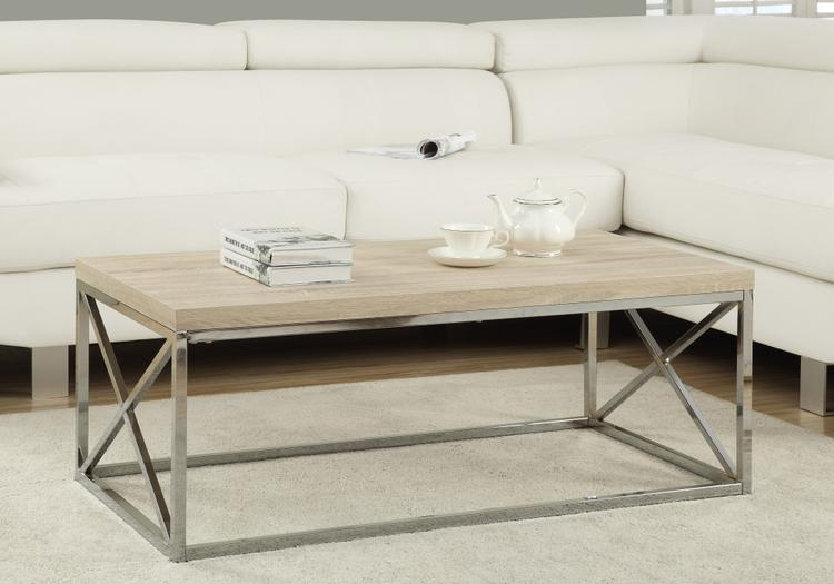 Monarch Specialties Coffee Table - With Metal