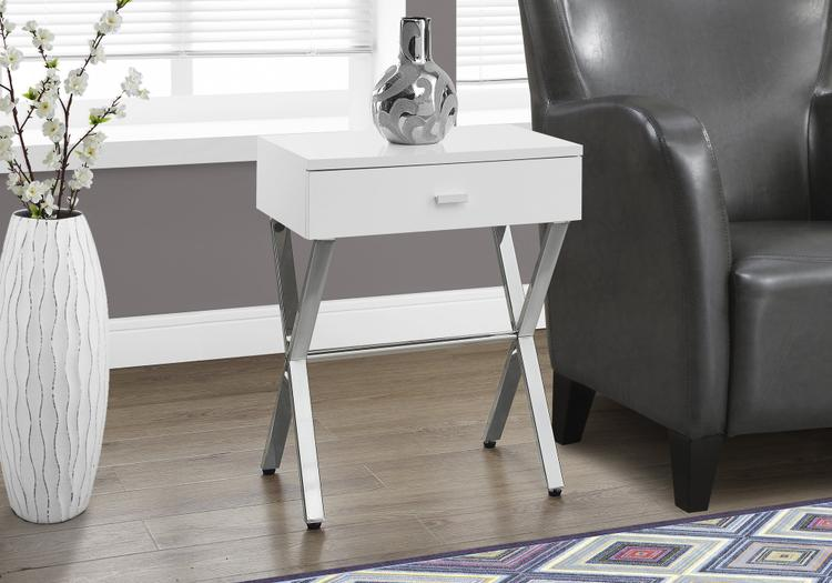 Accent Table - Metal Night Stand