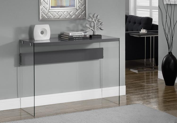 Console Table - With Tempered Glass