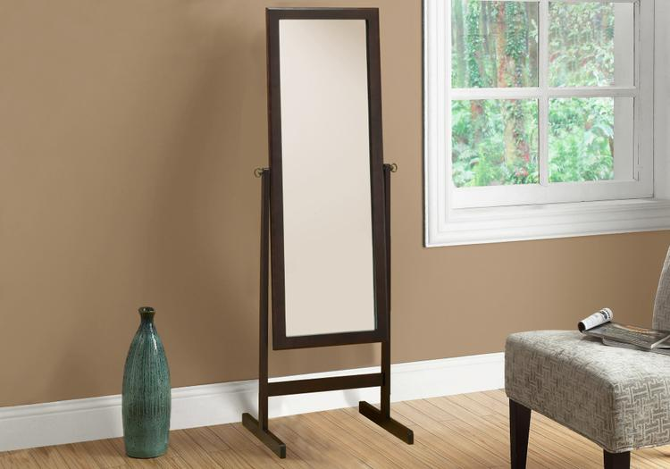 Monarch Specialties Mirror - Wood Frame