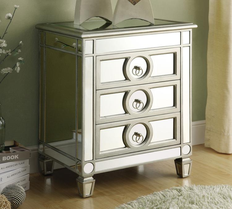 Accent Table - 3 Drawers