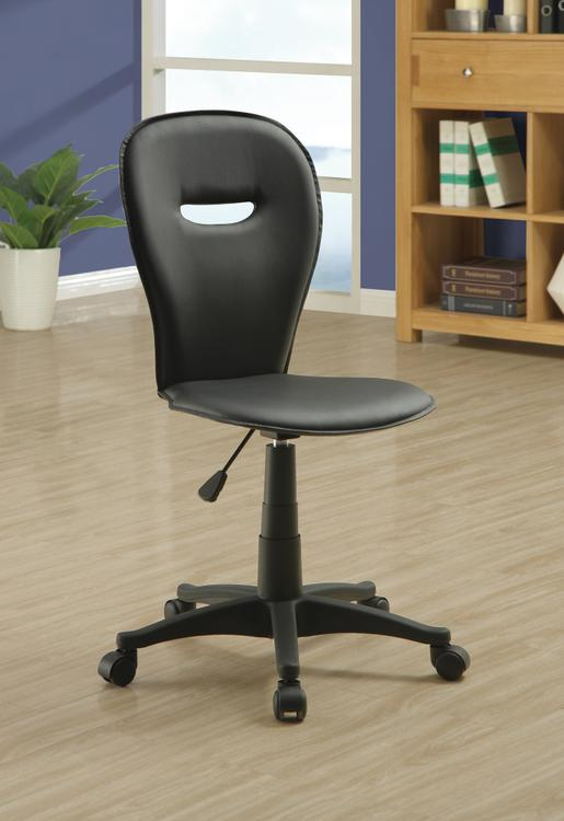 Office Chair - Leather-Look Fabric