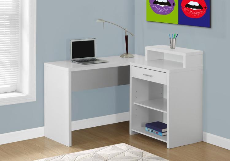 Computer Desk - Corner With Storage