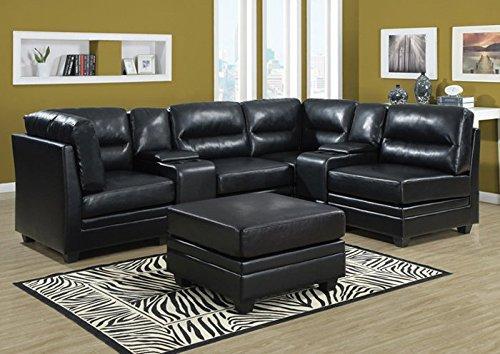 Sofa -Bonded Leather Console