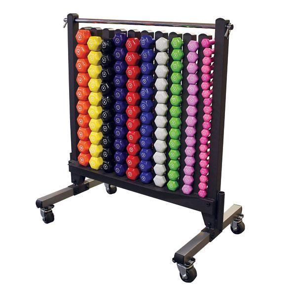 Commercial Dumbbell Rack And Dumbell's Package