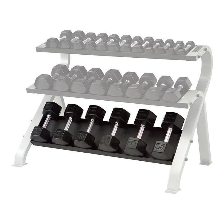 Optional 3rd Shelf for 2-Tier Horizontal Dumbbell Rack