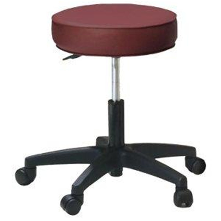 Pneumatic Rolling Stool - Standard Foam and Levante Upholstery