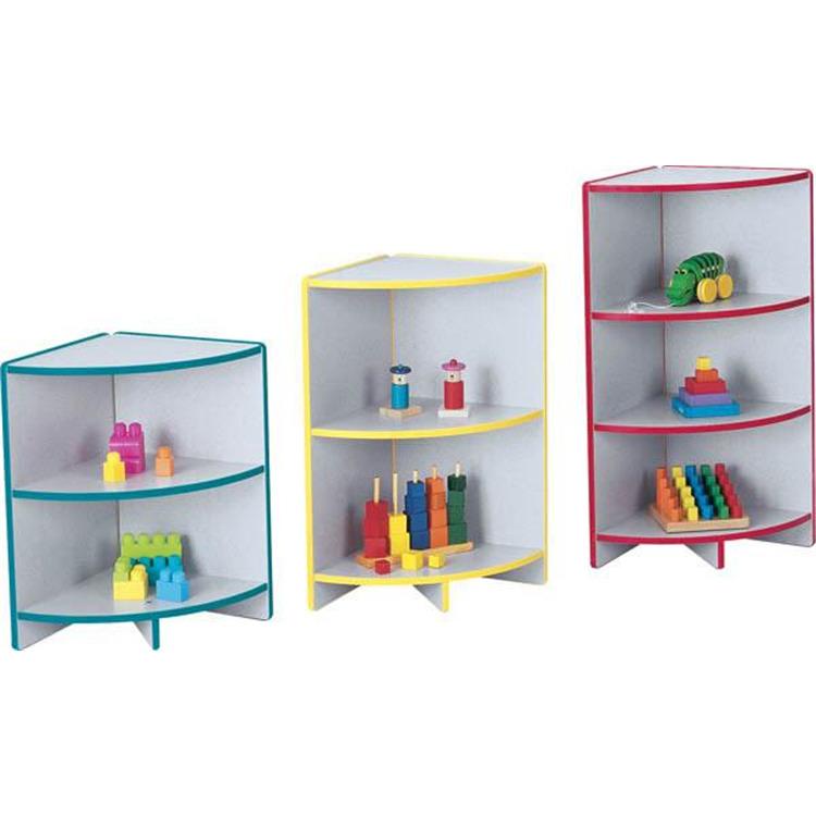 Jonti-Craft Adjustable Bookcase Curved