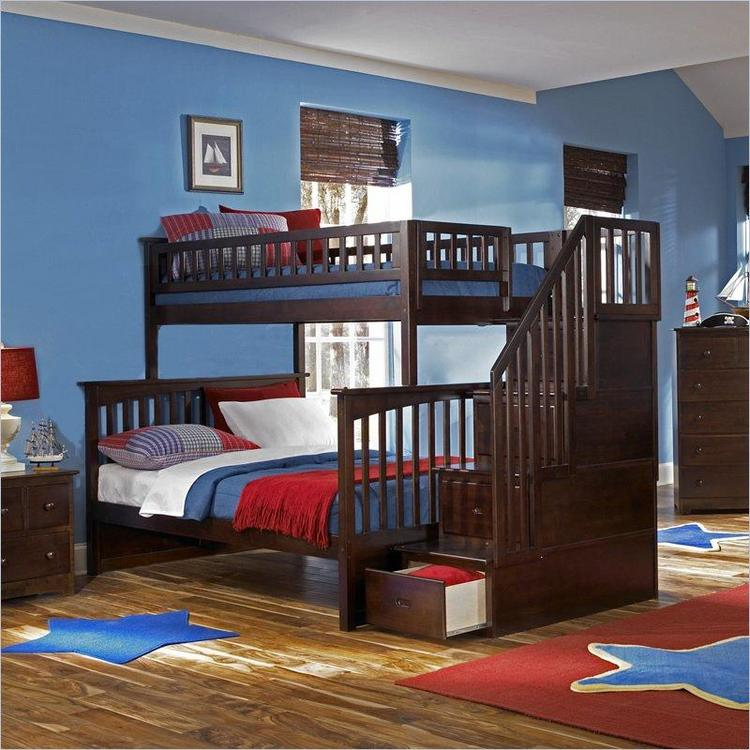 Columbia Staircase Bunk