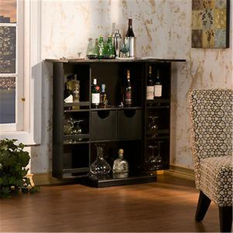 Southern Enterprises Fold Away Black Bar