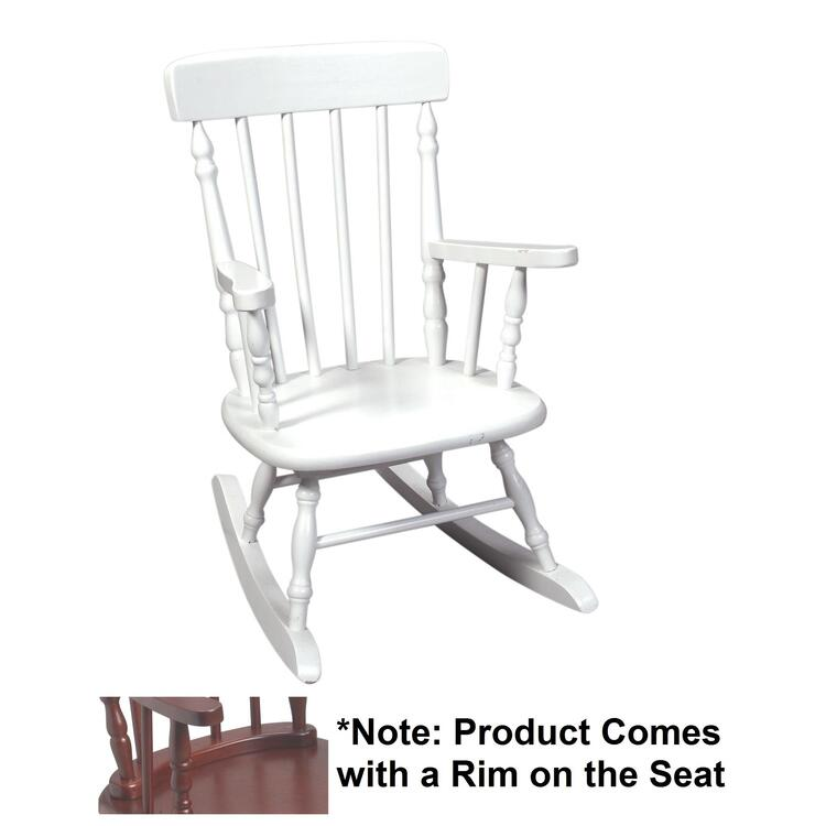 Deluxe Child's Spindle Rocking Chair